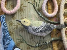 Whimsical Bird Art Sally Mavor