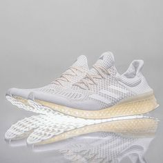 One of the most anticipated sneaker releases of the year is the adidas Futurecraft running shoe, which features an upper akin to the Ultra Boost atop a 3-D printed sole. Get a detailed look now on SneakerNews.com