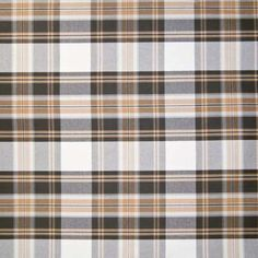 A9992 Coal Plaid Fabric by the Yard: gray, tan, cream colors : yardage or available for COM Program (Customers Own Material) for custom draperies, roman blinds & shades, top treatment : Custom Window Treatments, bedding, Pillows
