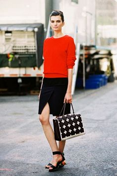 7 Minimalistic Outfit Ideas For Summer via @Who What Wear