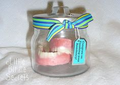Candy Mold Dentures for Dessert.  (Not Dentist Approved)
