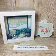 Hello, and welcome. I recently saw a beautiful shadow box online made by Amanda Frankle, and knew I wanted to make one for myself. She m...