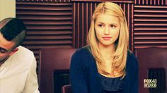 lucy quinn fabray glee ♥