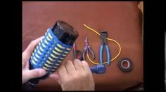 The Paracord Weaver: How To - Water Bottle Wrap - Part 5 - YouTube