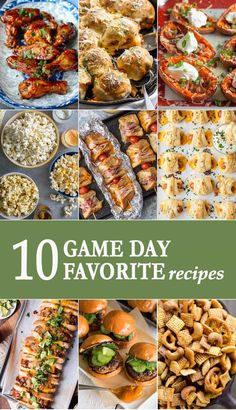 Whether you root for baseball, football, or basketball, you're going to need some game day snacks. Today we're sharing 10 game day favorites. We've got some classics, some new twists, and even some healthy choices! via @beckygallhardin