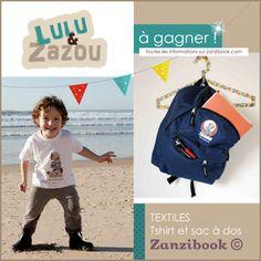 illustrateur jeunesse – encart publicitaire Lulu et Zazou
