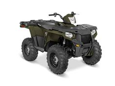 New 2016 Polaris Sportsman 450 H.O. EPS Sage Green ATVs For Sale in Michigan. 2016 Polaris Sportsman 450 H.O. EPS Sage Green, View Polaris Promotions: - Factory Authorized Clearance BRAND NEW SPORTSMAN 450 ,WORK OR PLAY THIS ATV DOES IT ALL,YOU WONT FIND A BETTER VALUE THAN THIS !!!!!!!!! Powerful 31 horsepower ProStar® engine Legendary Independent Rear Suspension with 9.5 inches of travel Lock & Ride® rack with integrated steel tie downs