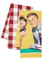 By Pop-ular Demand Tea Towel Set | Mod Retro Vintage Kitchen | ModCloth.com