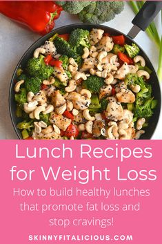 Healthy Lunches for Weight Loss - Skinny Fitalicious® Healthy Low Calorie Meals, Healthy Meal Prep, Healthy Lunches, Healthy Eating, Healthy Food, Clean Eating Recipes, Lunch Recipes, Healthy Dinner Recipes, Free Recipes