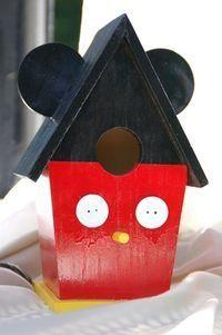 Mickey Mouse Birdhouse