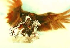 Image detail for -Rushing War Eagle Prints by Bev Doolittle at ArtPrints.com