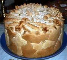 Serbian Orthodox Patron Saint's Day bread                                                                                                                                                                                 More