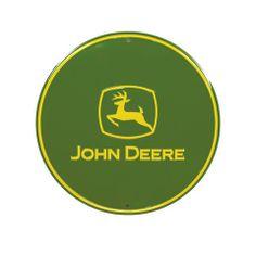 John Deere Metal Sign Greentoys4u Johndeere Green Yellow Circle