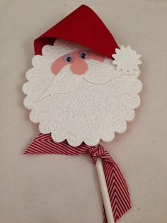 Love this cute snowman!  Stampin' Up!