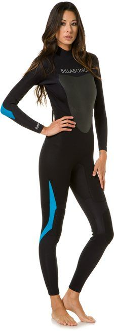 BILLABONG SYNERGY 3/2MM FULL SUIT > Gear > Wetsuits > Womens Wetsuits | Swell.com