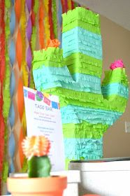 Peachy Cheek: how to make cactus pinata