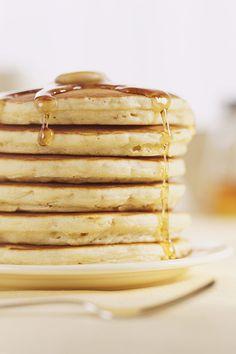 Le pancake écossais avec Fruit d'Or ® Une recette trop facile pour le petit déjeuner !  #recette #recettefacile #pancake #recettepancake #brunch #crepe