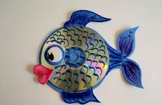 CD animal craft for kids | PicturesCrafts.com