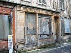 Meaux. The vintage streets.