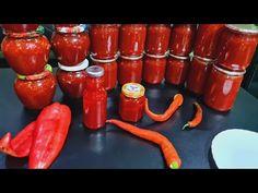Dulceață de Ardei iuți.Noi o mâncăm cu lingură.O combinație foarte buna pentru carne și pește .🌶🌶🌶🌶 - YouTube Stuffed Peppers, Vegetables, Food, Canning, Stuffed Pepper, Essen, Vegetable Recipes, Meals, Yemek