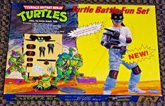 1991 TMNT Turtle Communicator with box - Teenage Mutant Ninja Turtles Playmates Ninja Turtles 2014, Teenage Mutant Ninja Turtles, Ninja Turtle Tattoos, Turtle Games, Ninja Battle, Mini Turtles, Bee Toys, Ninja Turtles Action Figures, Toys Land