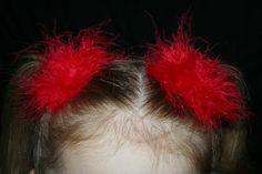 Boa Hair Clip