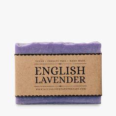 Handmade vegan soap with lavender #lavender #soap #vegan #natural #ravenscourt