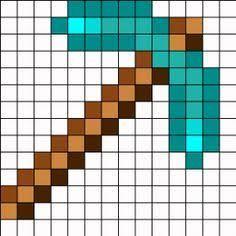 """Résultat de recherche d'images pour """"minecraft hama beads templates"""""""