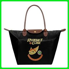 Ratchet And Clank Women Stylish Waterproof Tote Shoulder Bag - Shoulder bags (*Amazon Partner-Link)