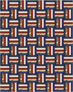 Alycia Quilts: Scrappy Rail Fence Pattern for Quilts of Valor Sew Day