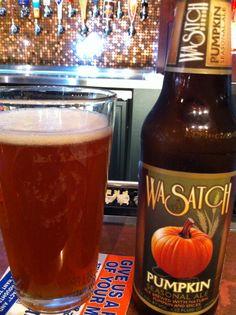 Wasatch Pummkin Seasonal Ale, 4% abv.