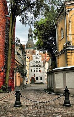 Riga, Latvia (by Vitalijs Rusanovs on Flickr)