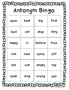 """match making synonyms Enrichment strategy: matching activity """"card flip game"""" synonyms & antonyms this offline enrichment strategy helps students reinforce their understanding of word meanings."""
