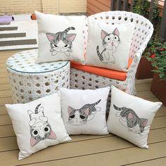 Cat Series Pillows || Aliexpress