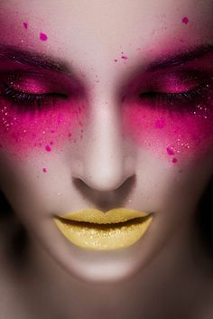 pink and yellow