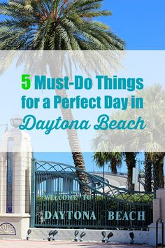Dreamy. Wish I was there right now! The Perfect Day in Daytona Beach with these 5 Things #DaytonaBeach #ad