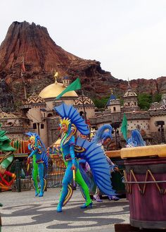09 Tokyo DisneySea (Shows) 070630 Carnaval Costume, Sea Costume, Fish Costume, Seahorse Costume, Little Mermaid Costumes, The Little Mermaid, Cool Costumes, Halloween Costumes, Children Costumes