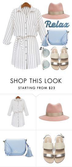 """Без названия #911"" by sabina-127 ❤ liked on Polyvore featuring WithChic, rag & bone, Kate Spade and Christian Dior"
