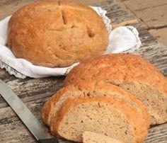 GF DF EF No-Knead Bread == Gluten Free & More