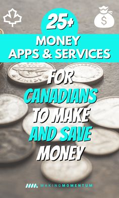 Best Money Apps For Canadians: Free Apps To Save & Make MoneyWant to take control of your money and life? Check out these Canadian money apps, services and tools to help you save money, make money, invest be. Make Money Fast, Ways To Save Money, Money Tips, Money Saving Tips, Free Money, Money Box, Earn Money, Budgeting Finances, Budgeting Tips