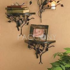 Wrought Iron Flower Shelf (Leaf) on http://www.paccony.com/product/Wrought-Iron-Flower-Shelf-Leaf-22257.html