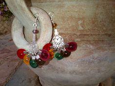 chandelier multicolor