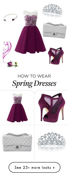 """Prom"" by nifka1 on Polyvore featuring Call it SPRING, Topshop, Bling Jewelry and Chanel"