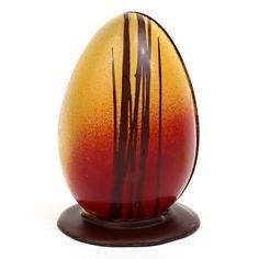Hand-Decorated Artisanal Chocolate Egg