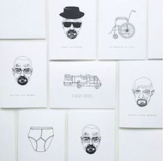 We love Rebecca Iriss's Breaking Bad inspired Fathers Day cards. https://www.printed.com/products/2/greeting-cards