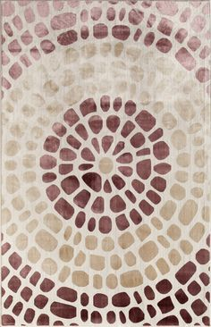 Another great find on Cream Sunburst Ambrose Rug by Rugs America