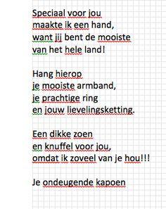 gedicht bij gipshand