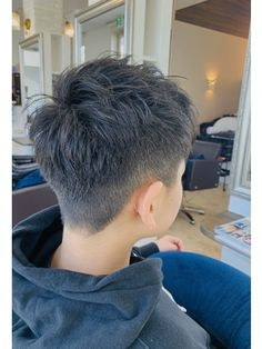 Asian Boy Haircuts, Cool Boys Haircuts, Asian Haircut, Asian Men Hairstyle, Girls Short Haircuts, Really Short Hair, Short Hair Cuts, Short Hair Styles, Haircut Names For Men