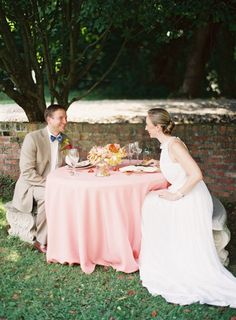 summer wedding session ideas, pink, coral, orange, yellow, pom poms, streamers, ruffle dress, balloons, gold heels, pink ombre cake, chess, Historic Mankin Mansion, orange parrot tulips, peonies, carnations, pink table setting