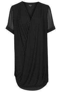 Drape Front Dress topshop $75